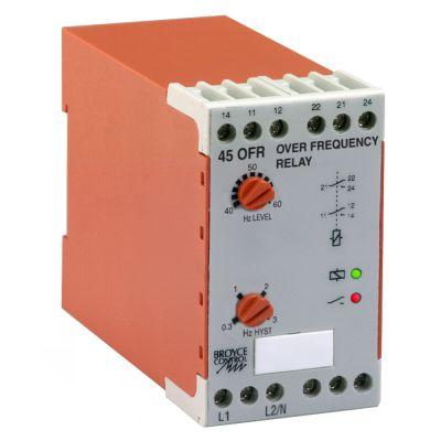Rơ le bảo vệ tần số cho máy phát điện