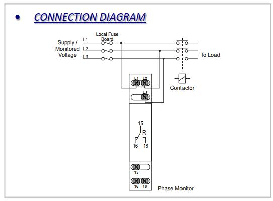 Rơ le bảo vệ điện áp 3 pha - LXPRC/S