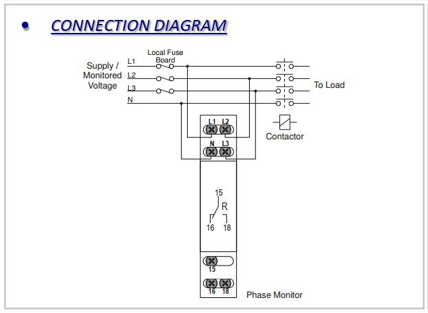 Rơ le bảo vệ điện áp 3 pha + Trung tính - LXPRC/S-4W